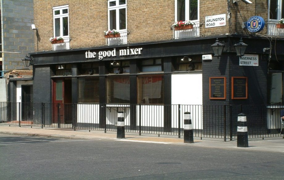 The good mixer camden london