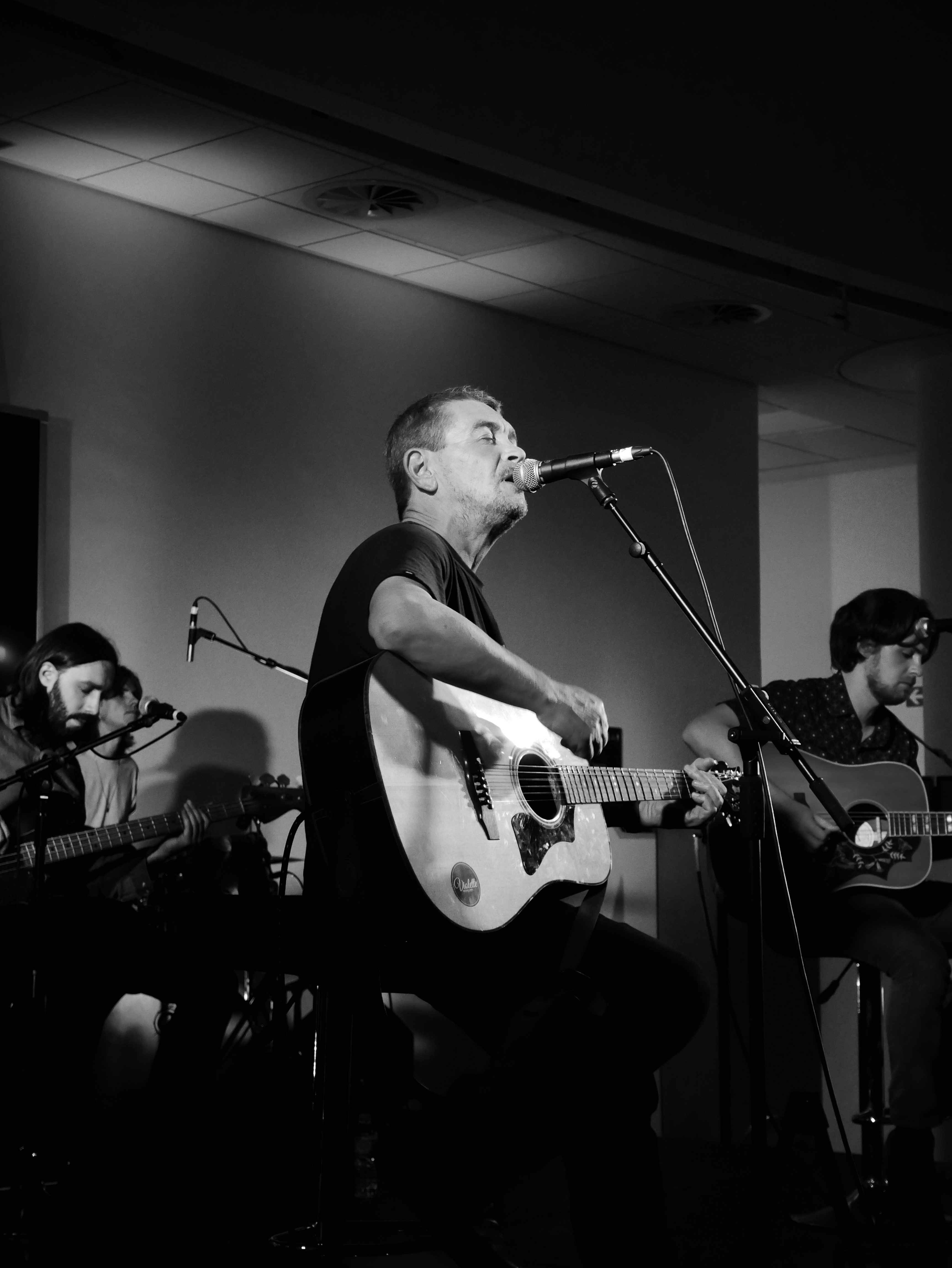 Michael Head & The Red Elastic Band au Museum Of Liverpool