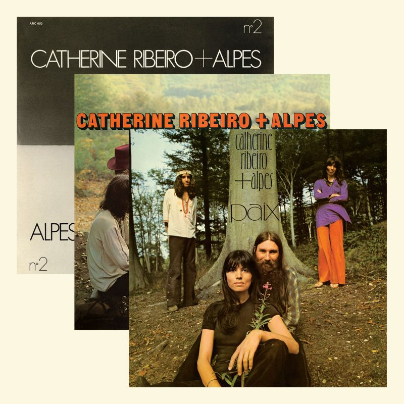 Catherine Ribeiro + Alpes, N°2, Âme Debout, Paix (Anthology Recordings)
