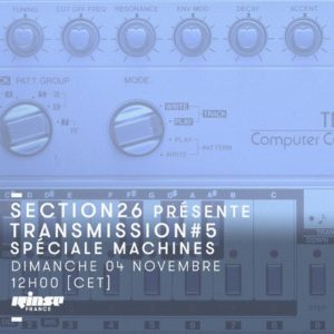 Transmission Section 26 Rinse FR Spéciale Machines