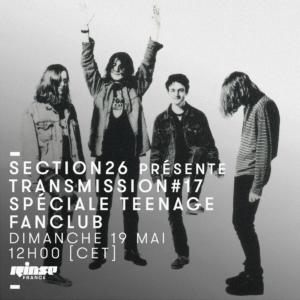 Transmission Rinse FR Spéciale Teenage Fanclub