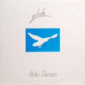La pochette de Glide de Peter Davison