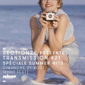 section26 Rinse Transmission spéciale summer hits