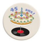 badge chroniques anniversaire 45 ans
