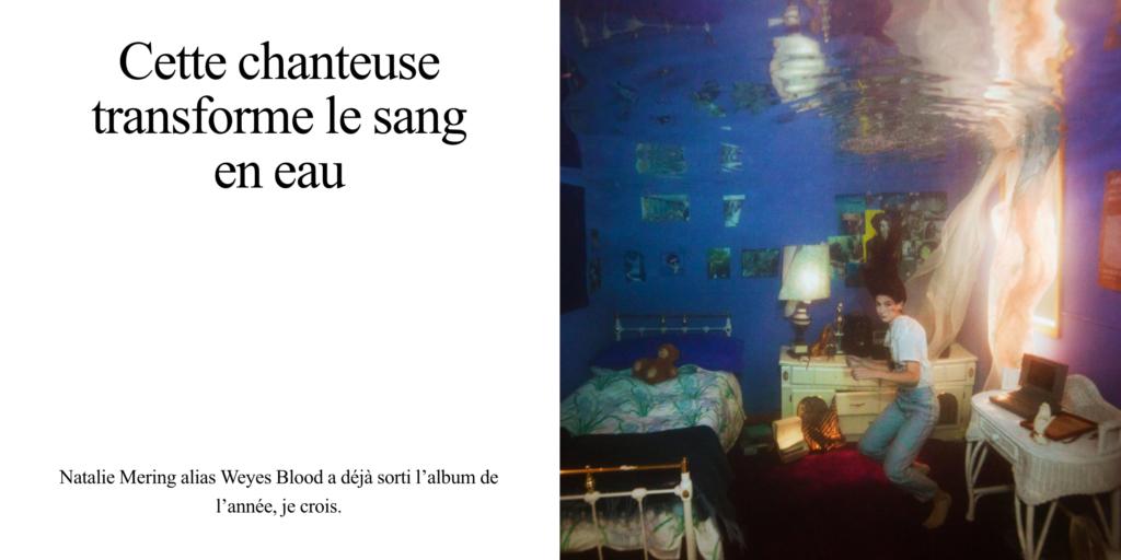 Weyes Blood dans Musique Journal