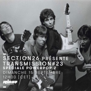 section26 Rinse Transmission spéciale Power Pop 2