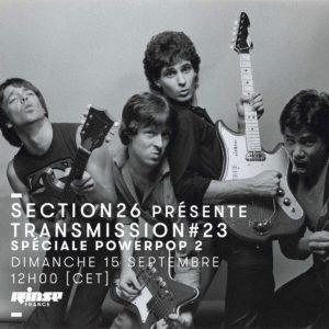 section26 Rinse Transmission spéciale Power Pop 2
