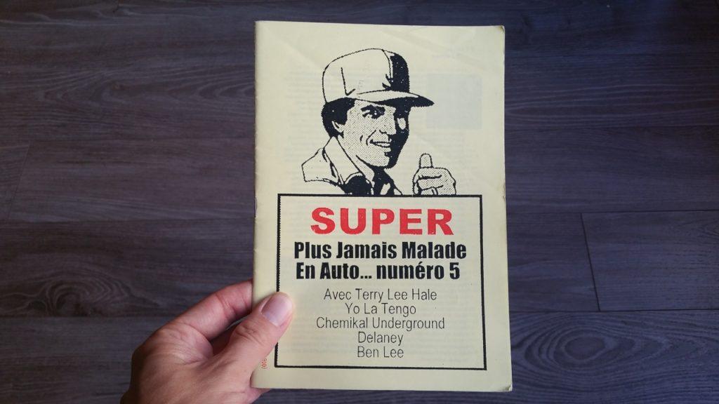 Plus Jamais Malade En Auto, le fanzine de Philippe Dumez