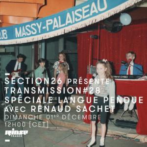 section26 Rinse Transmission spéciale fanzines avec Langue Pendue