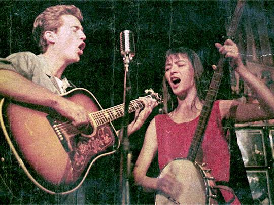 Richard Tucker et Karen Dalton