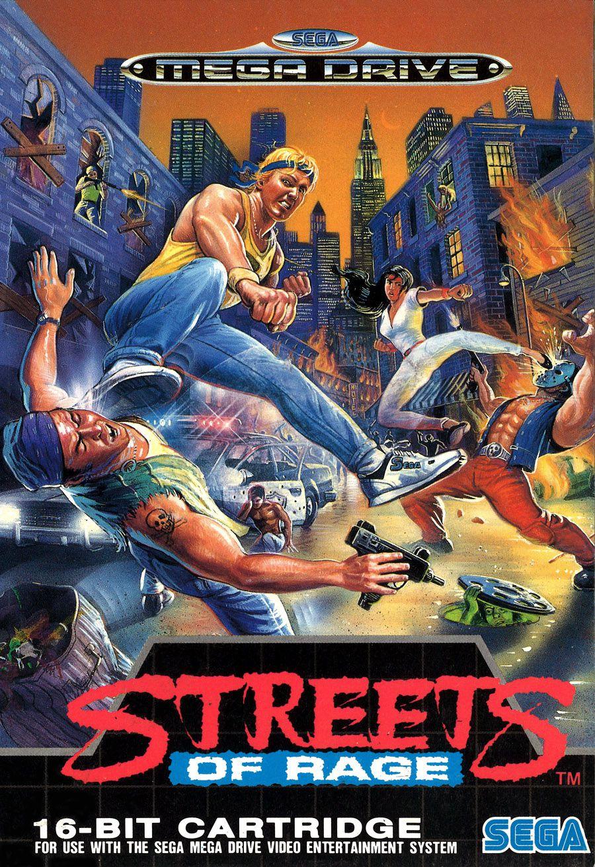 Streets Of Rage sur Mega Drive de Sega