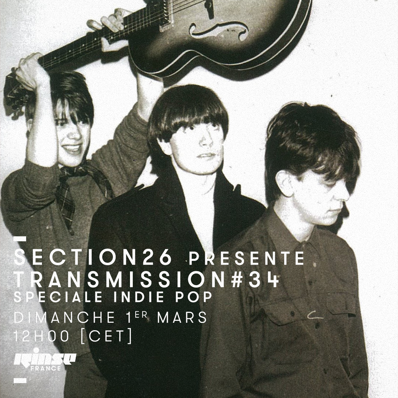 section26 Rinse Transmission spéciale Indie Pop