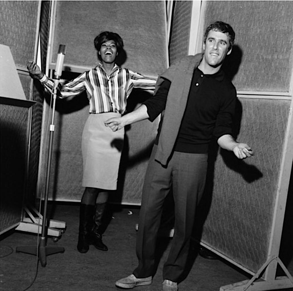 Burt Bacharach et Dionne Warwick