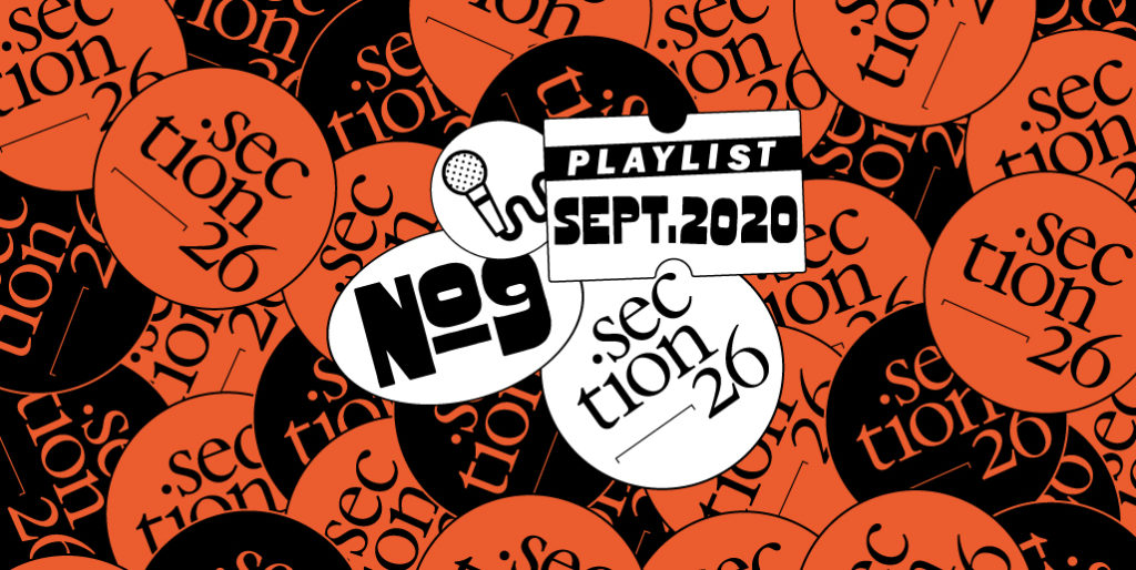 Visuel playlist du mois de septembre 2020 section 26