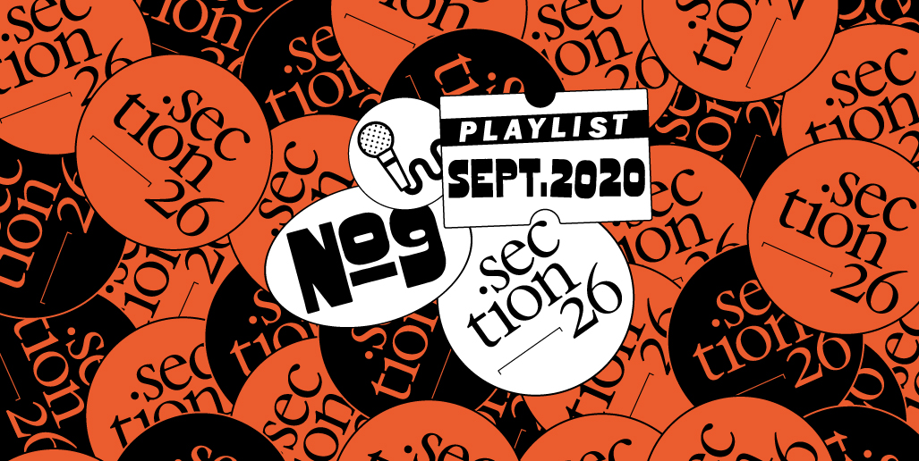 section26 playlist du mois de septembre