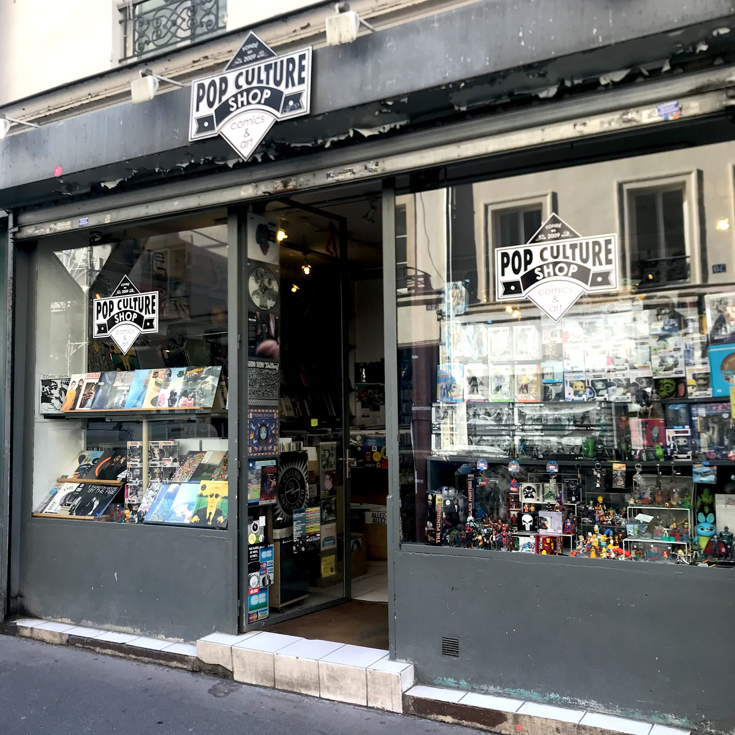 Pop Culture Shop, Paris