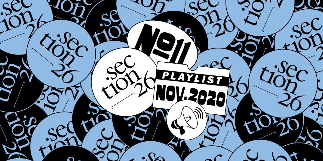 section26 playlist du mois de septembre
