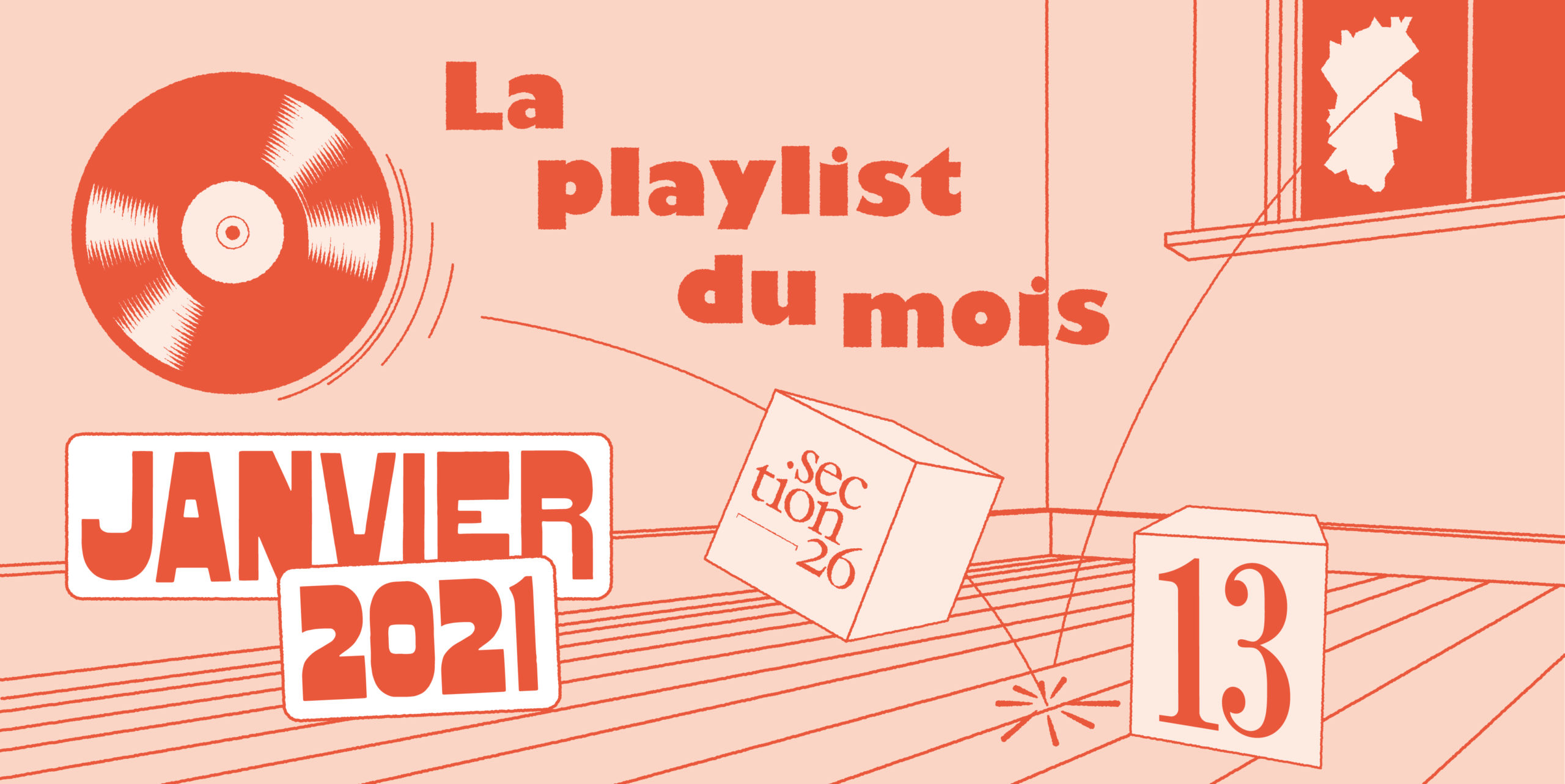 section26 playlist du mois de janvier 2021