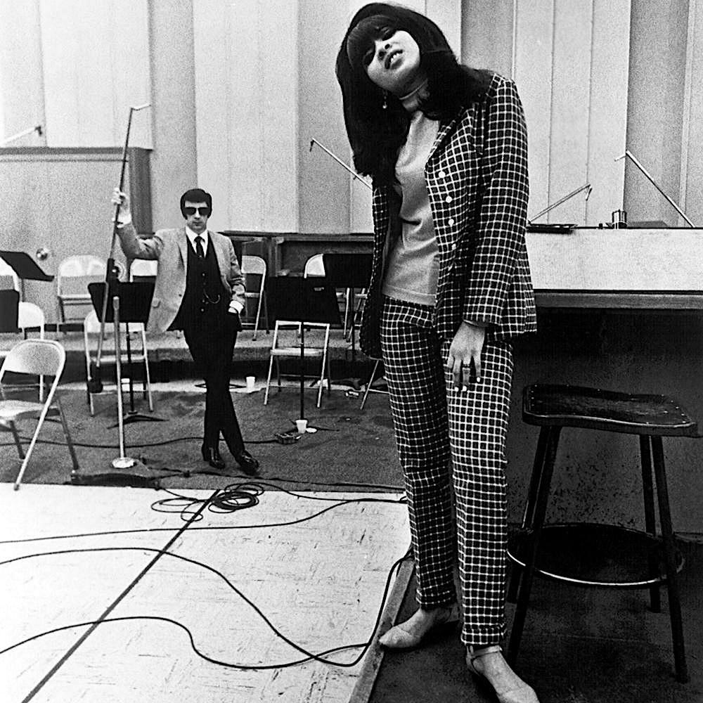 Phil Spector et Veronica Bennett, alias Ronnie Spector