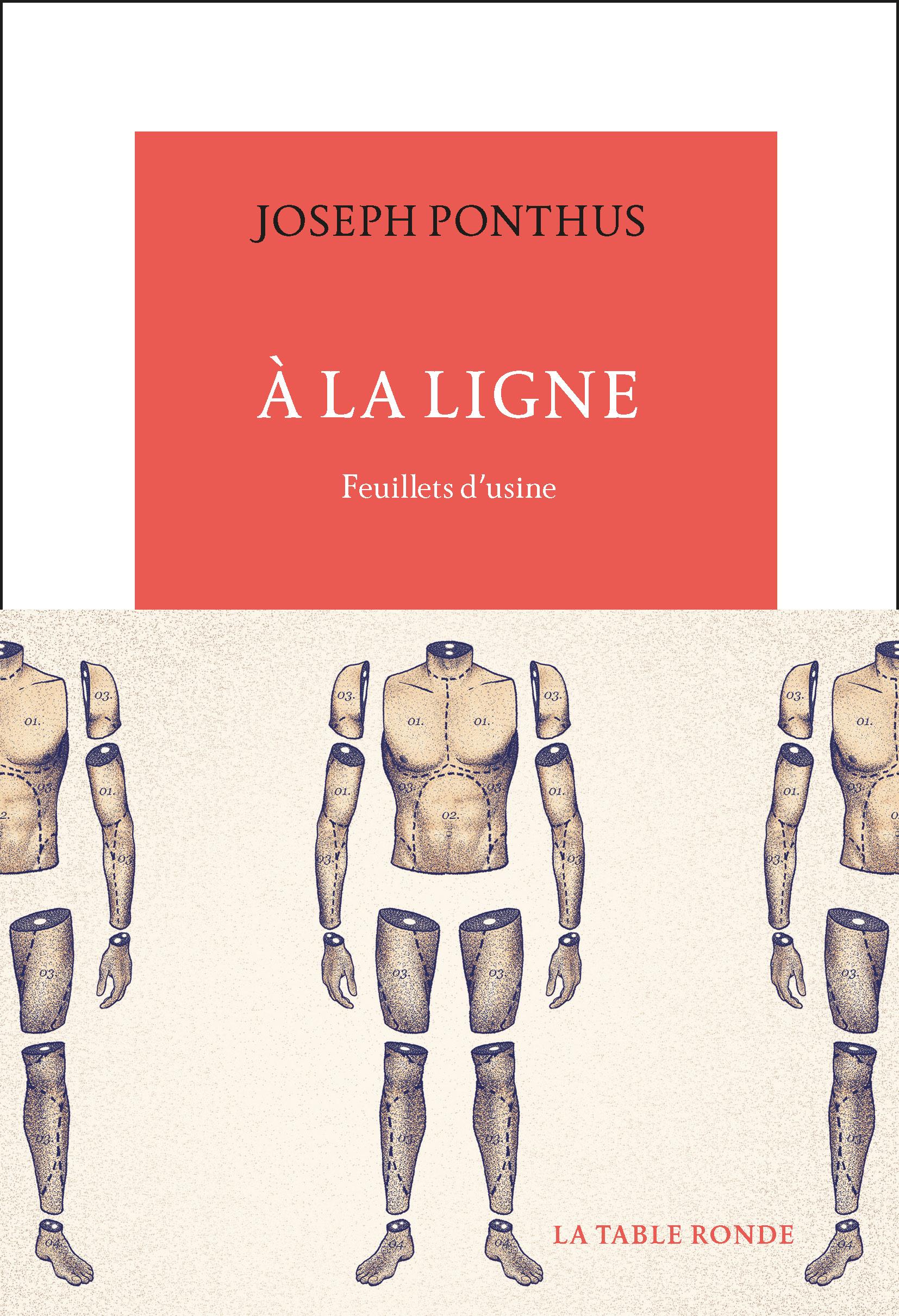 À La Ligne de Joseph Ponthus Editions La Table Ronde