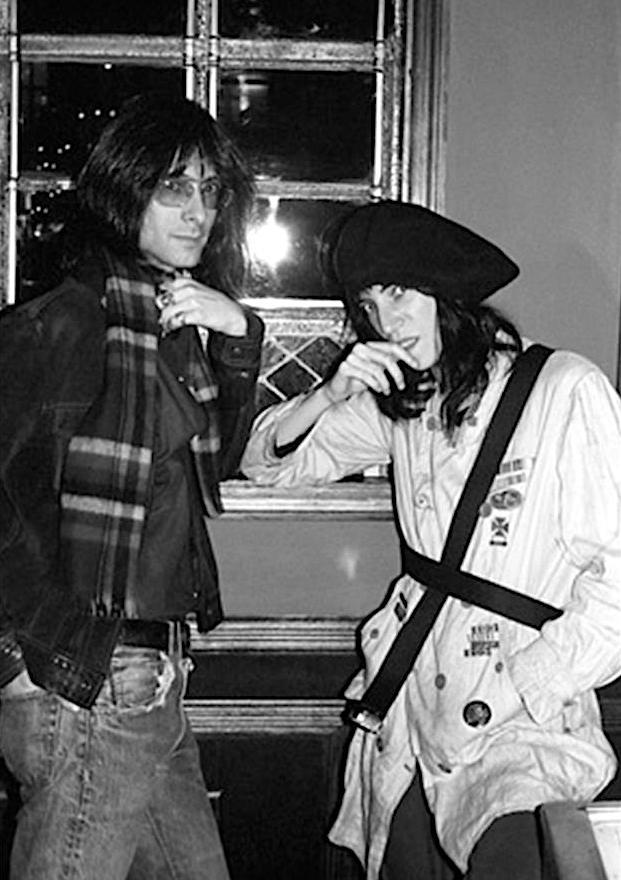 Lenny Kaye & Patti Smith