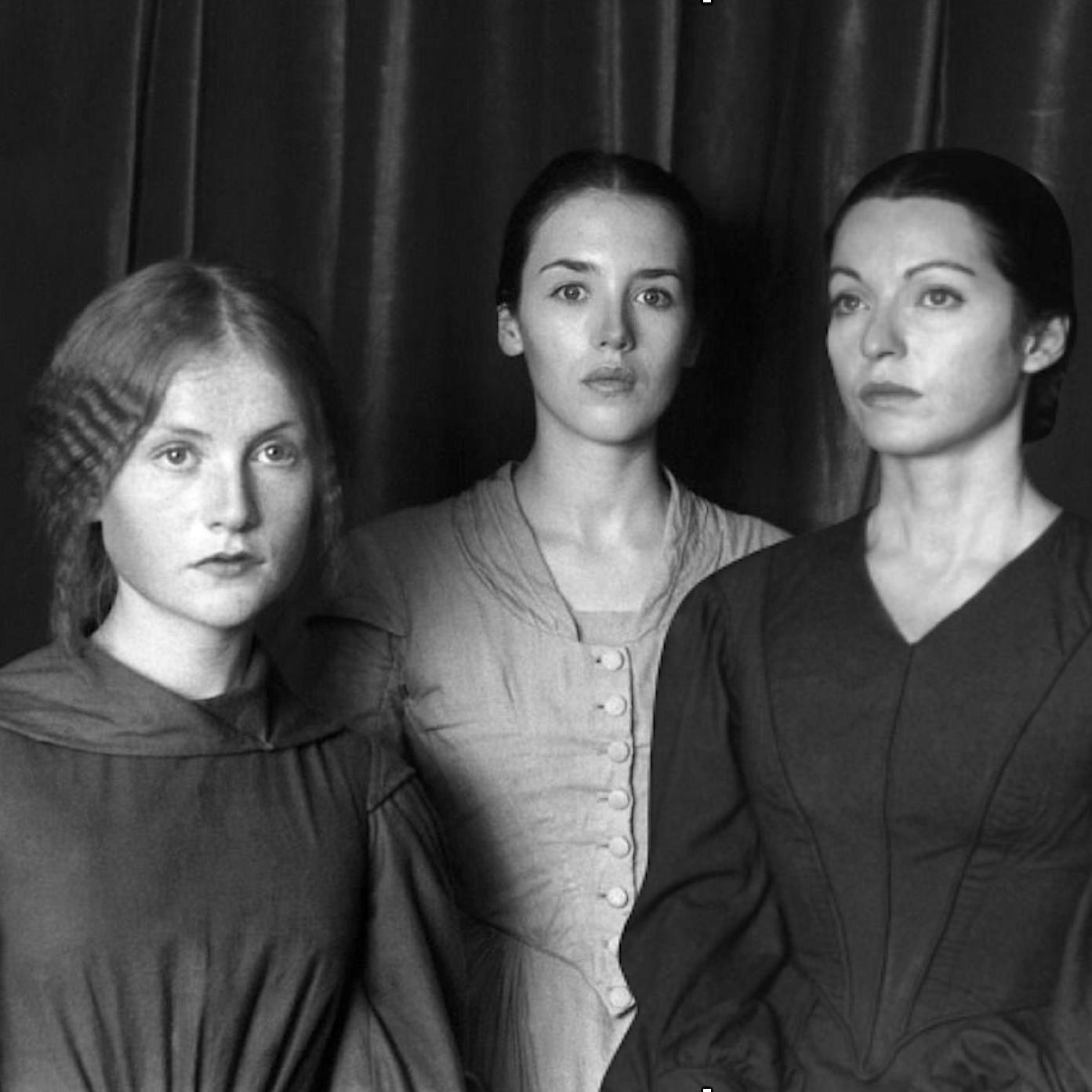 Les sœurs Brontë d'André Téchiné  : Isabelle Huppert, Isabelle Adjani et Marie-France Pisier.