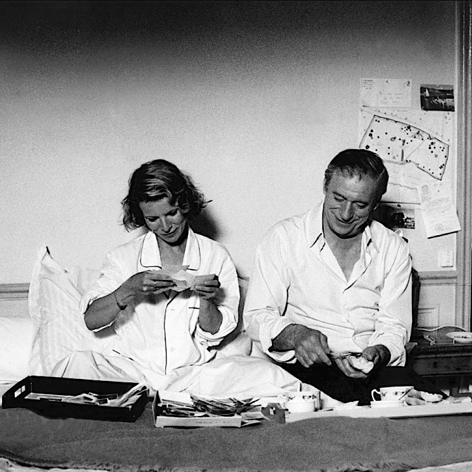 Nicole Garcia et Yves Montand dans Garçon ! de Claude Sautet (1983)