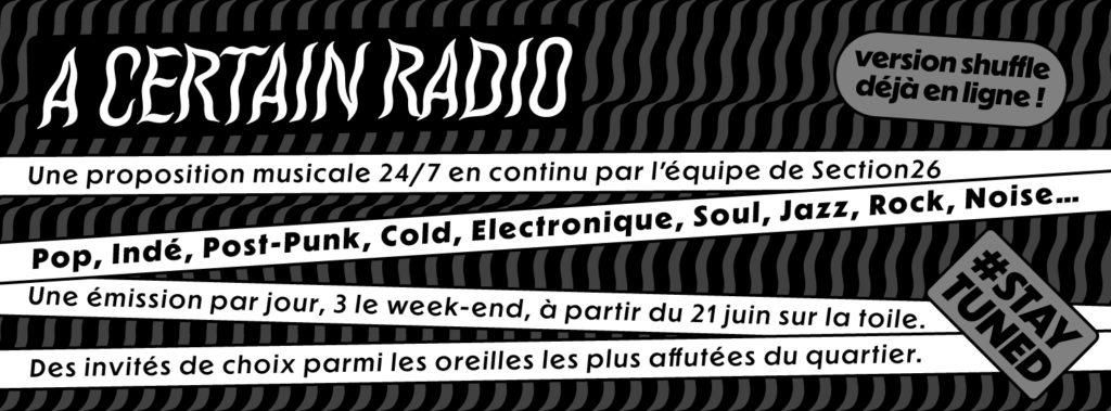 A certain radio is born !