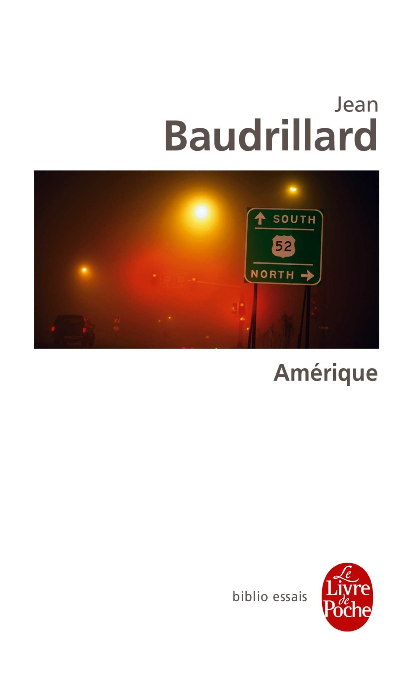 Amérique Jean Baudrillard