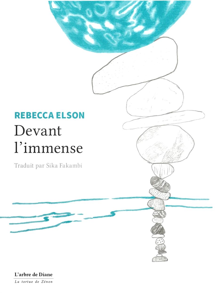 Devant l'immense Rebecca Elson