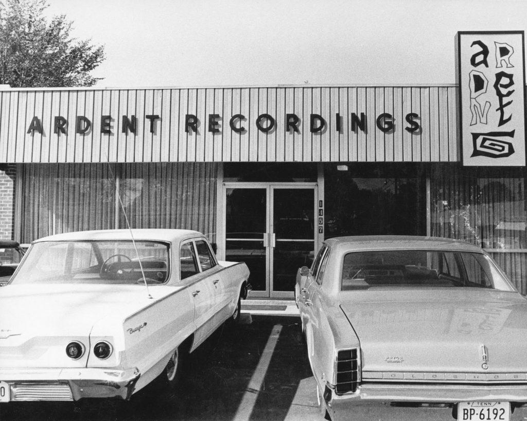 Studios Ardent Recordings, Memphis, Tennessee.