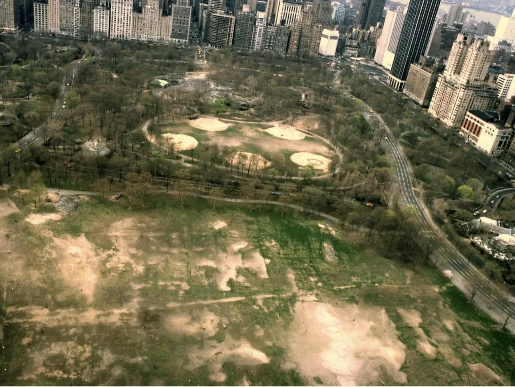 Central Park, début 80s.