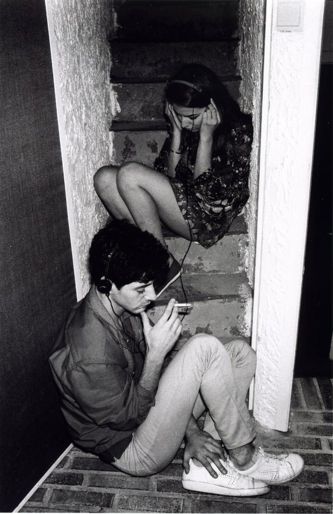 Etienne Daho et Elli Medeiros, Paris, 1981