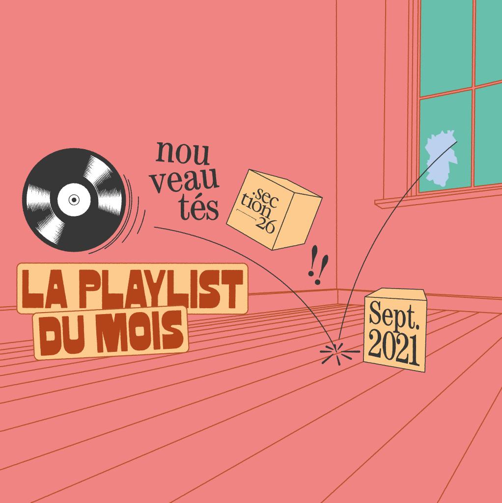 Playlist du mois Section26