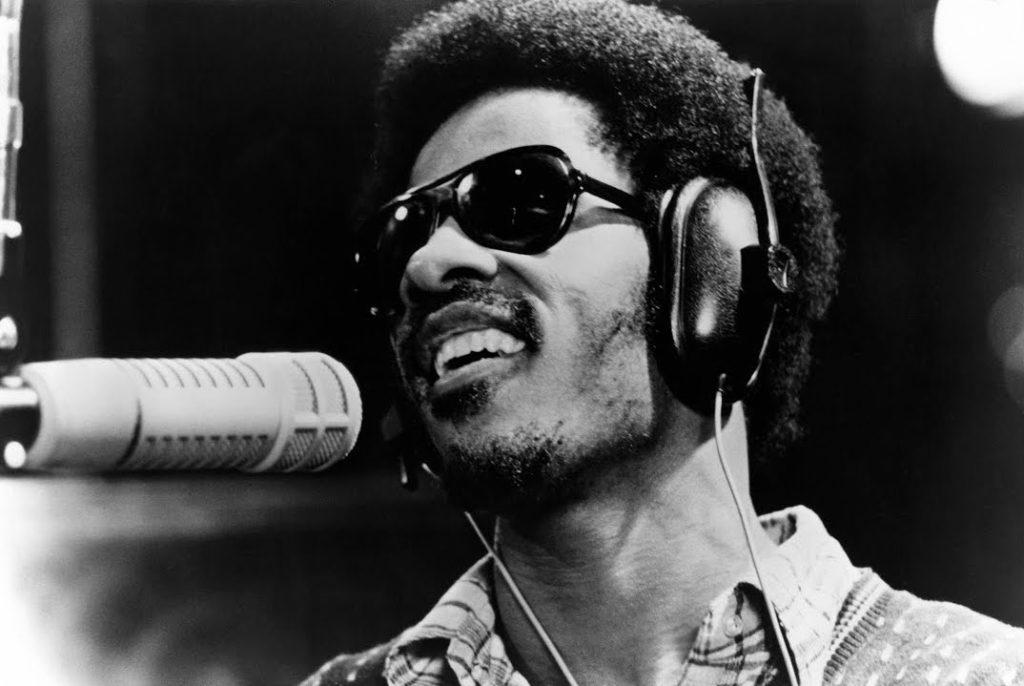 Stevie Wonder en 1973.